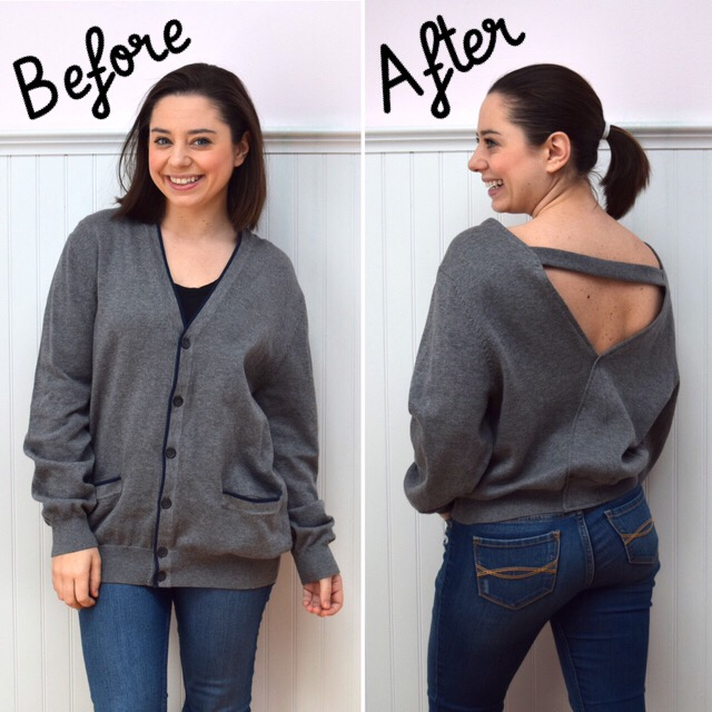 How to Refashion a Sweater: 24+ Sweater Refashion Tutorials 2