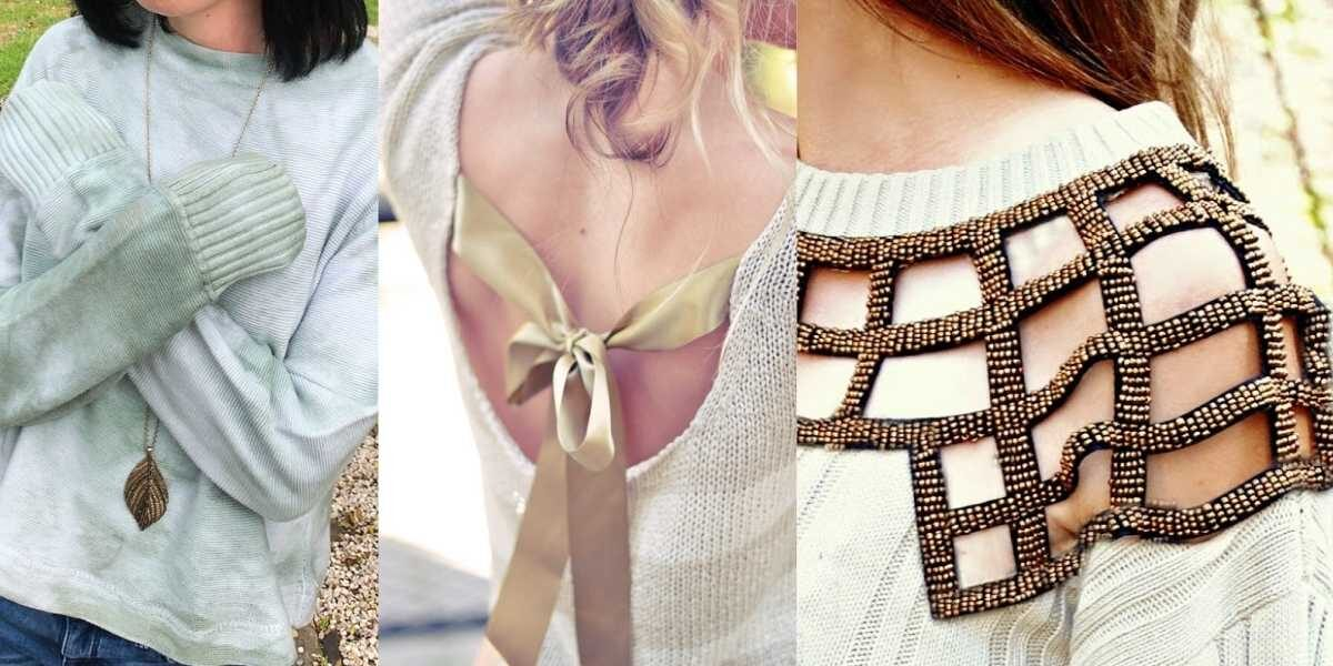 How to Refashion a Sweater Featured Image