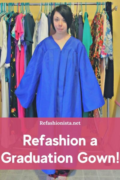 What to do with an Old Graduation Gown featured image pin 1