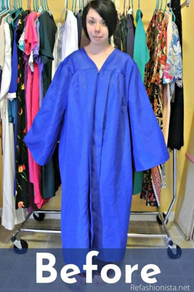 What to do with an Old Graduation Gown featured image pin 2