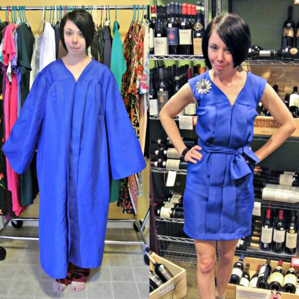 What to do with an Old Graduation Gown featured image pin 4