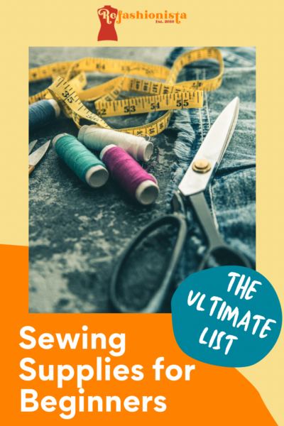 Sewing Supplies for Beginners