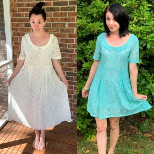 How to Dye & Refashion a Lace Dress Pin 5
