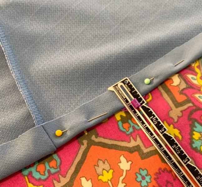 1940s-ish(?) Dress Refashion with Repurposed Sleeve Sash 1