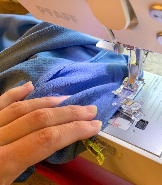 sewing dress sleeve