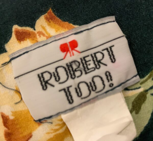 Robert too! label