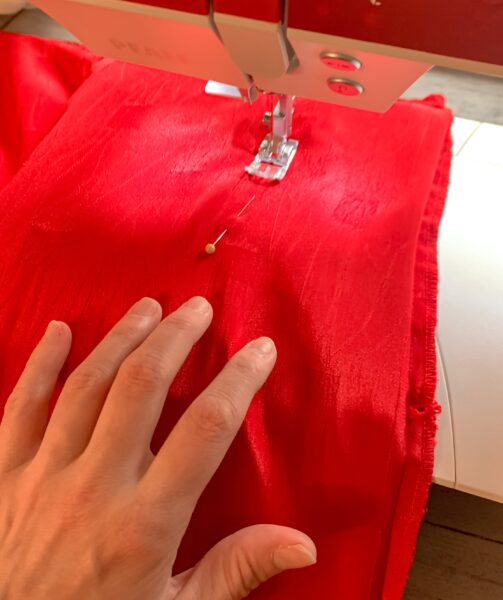 sewing side seam