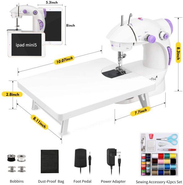 Magicfly Mini sewing machine dimensions