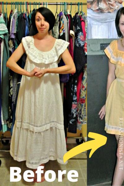 refashionista refashionista Dye It! Lemon Sherbet Dress pin 2
