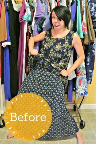 refashionista Most Secretive Maxi Dress Refashion pin 6