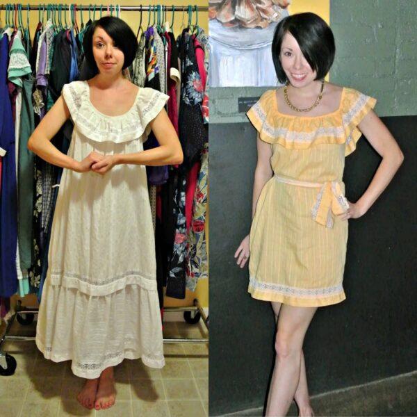 refashionista refashionista Dye It! Lemon Sherbet Dress pin 6