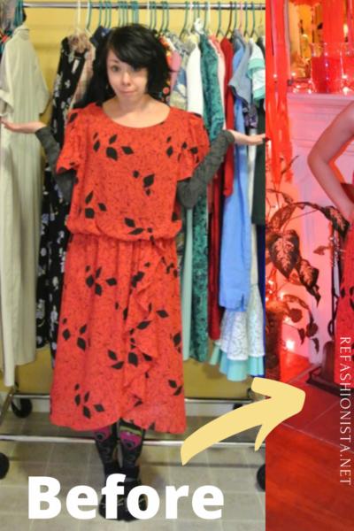 A Strapless Dress DIY & A Breakup Pin 3