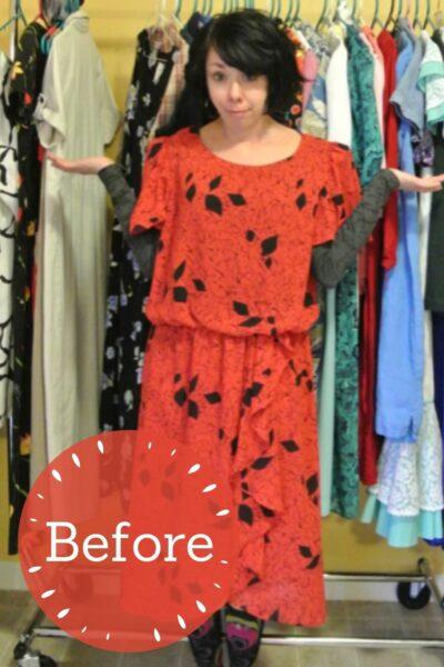 A Strapless Dress DIY & A Breakup Pin 6