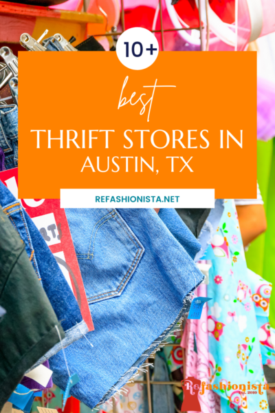The Best Thrift Stores in Austin pin 1