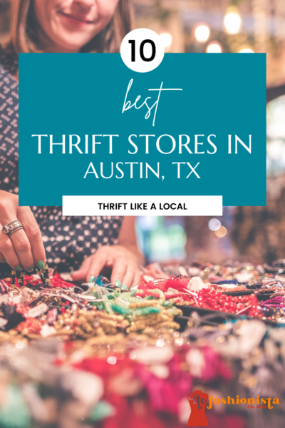 The Best Thrift Stores in Austin pin 2