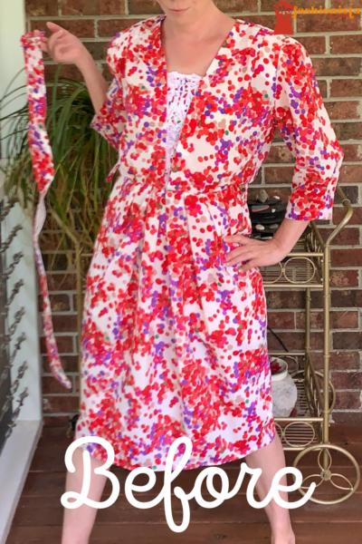 Refashionista Rosé Festival Dress Refashion Pin 4