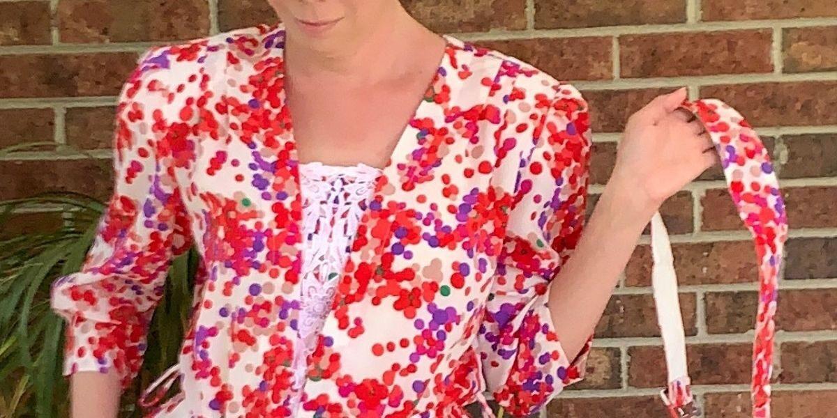 Rosé Festival Dress Refashion featured image