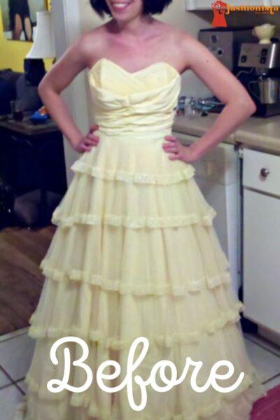 Wedding Dress Refashion Pin 3