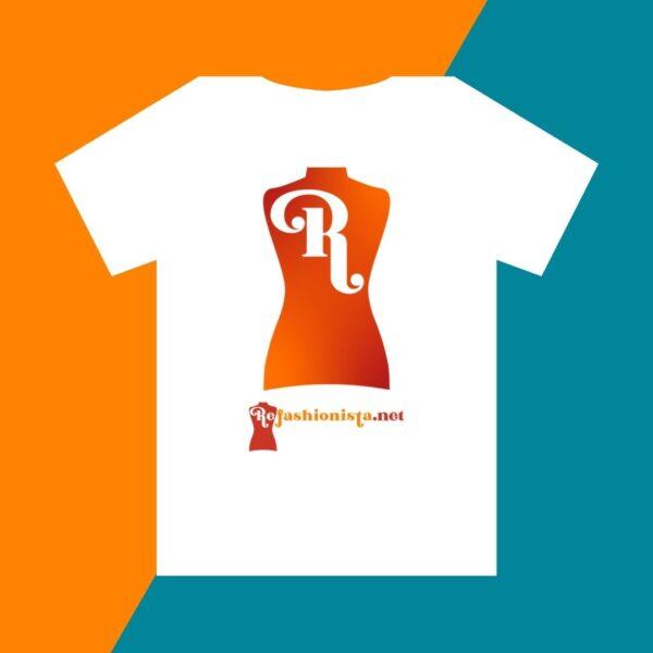 NuFun Refashionista Big R Logo Tee